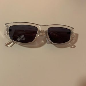 Urban outfitters Clear sunglasses